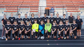 MARSHFIELD BOYS SOCCER SCORES TWO LATE GOALS TO WIN AT MEDFORD