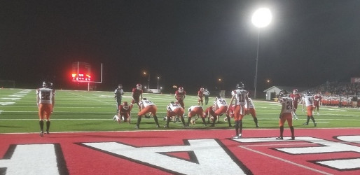 HORTONVILLE RIPS OFF 20-STRAIGHT POINTS TO TOP MARSHFIELD FOOTBALL