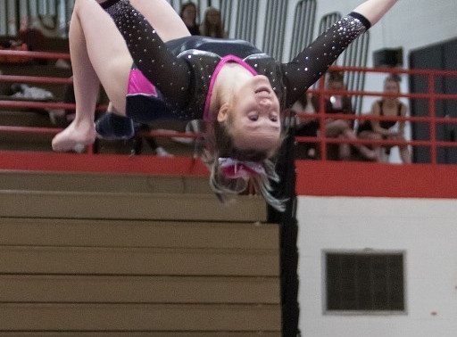 MARSHFIELD'S HOLLAND REPEATS AS VAULT CHAMPION, FINISHES 2ND IN ALL-AROUND AT WIAA STATE GYMNASTICS