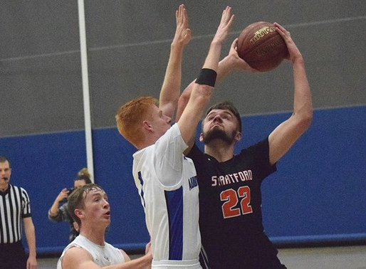 STRATFORD TOPS AUBURNDALE IN BOYS BASKETBALL SECTIONAL SEMIFINAL; WIAA CANCELS REMAINDER OF PLAYOFFS