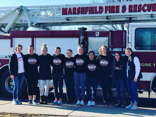 FOUR MARSHFIELD GYMNASTS COMPETE AT WIAA STATE MEET IN WISCONSIN RAPIDS