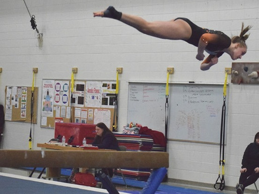 MARSHFIELD GYMNASTICS TOPS WISCONSIN RAPIDS TO FINISH GNC SEASON UNBEATEN