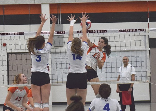 MARSHFIELD'S STEFFEN LANDS ON FIRST TEAM OF 2019 ALL-WISCONSIN VALLEY CONFERENCE VOLLEYBALL TEAM