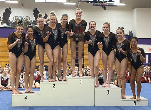 MARSHFIELD FINISHES NINTH AT WIAA STATE TEAM GYMNASTICS MEET