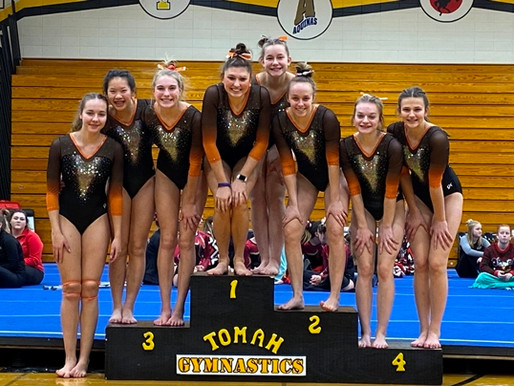 MARSHFIELD GYMNASTICS WINS TITLE AT TOMAH INVITATIONAL