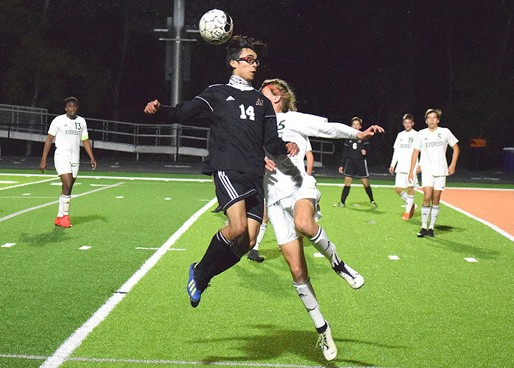 LATE GOAL LIFTS MARSHFIELD BOYS SOCCER TO TIE WITH D.C. EVEREST