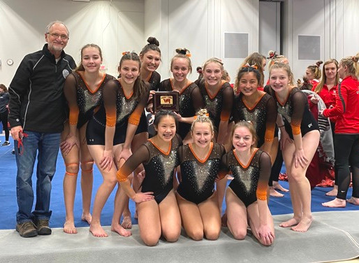 MARSHFIELD GYMNASTICS WINS HOME HUB CITY INVITATIONAL