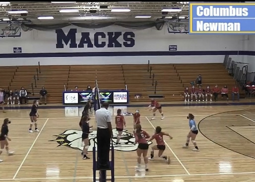COLUMBUS CATHOLIC VOLLEYBALL SECOND AT DIOCESAN TOURNAMENT