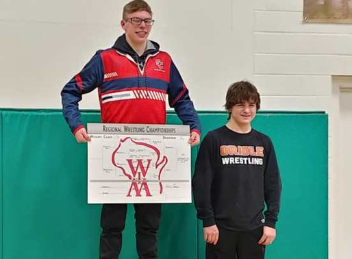 MEDFORD WINS TEAM TITLE, NUMEROUS LOCAL WRESTLERS MOVE ON TO SECTIONALS AT WIAA DIVISION 2 REGIONAL