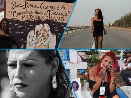 kenya Cuevas , una Heroína de la comunidad trans en Mexico.