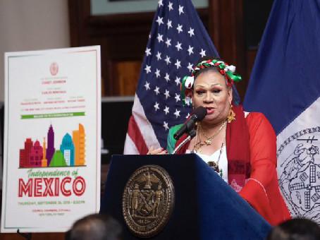 Lorena Borjas , la Madre de la comunidad Trans Latinx de Queens,New York.