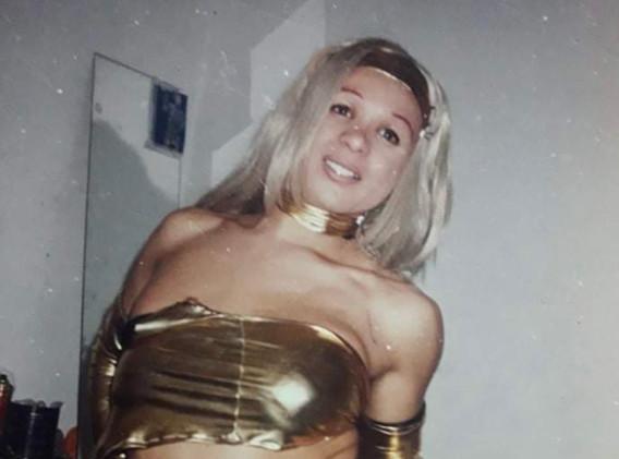 2001 Vanesita en Bs As Argentina .