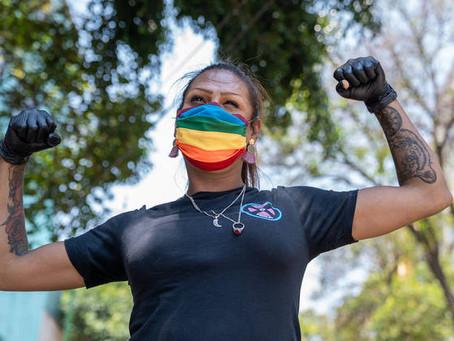 Kenya Cuevas convirtió el asesinato de su amiga en un albergue para la comunidad trans