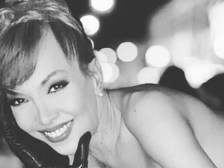 """Nacha Maria Sanchez , Transexual Española Protagonista de """"Vestida de Azul""""."""