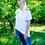 Thumbnail: BIRKA Frauen Loose Fit T Dress - Stick