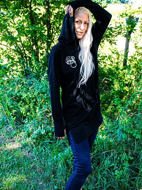LINDHOLM HØJE Frauen Hoodie Dress - Stick