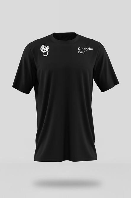 LINDHOLM HØJE Frauen Essential Organic Shirt - Druck