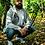 Thumbnail: HEJDE Männer Superstar Zip Hoodie - Stick