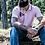 Thumbnail: HEJDE Männer Tipped Poloshirt - Stick