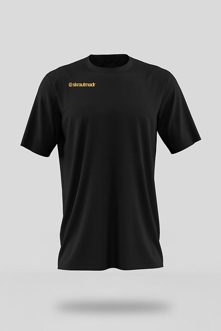 HIER KOMMT GESCHICHTE Männer Organic Favourite Shirt - Gold Druck