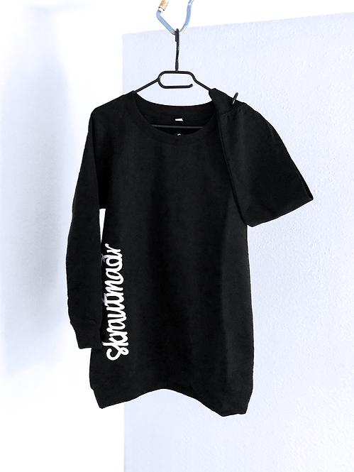 skrautmadr Frauen Long Sweatshirt - Print/Stick