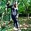 Thumbnail: skrautmadr Frauen Long Sweatshirt - Print/Stick