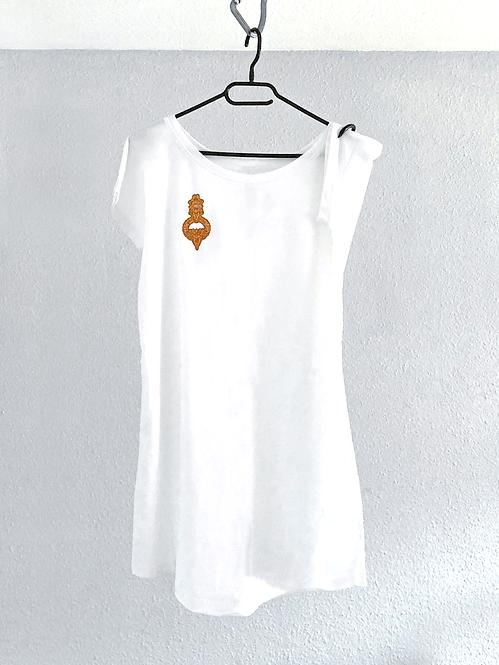 BIRKA Frauen Loose Fit T Dress - Stick