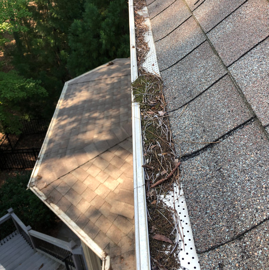 Residentail Gutter Cleaning