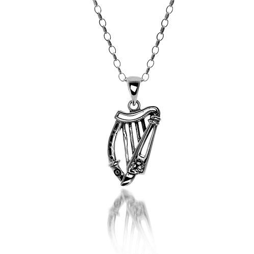 Pendentif Harpe Celtique