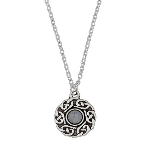 Collier Celtique pierre de Lune