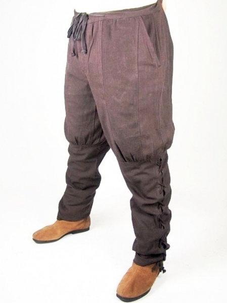 Pantalon Brun