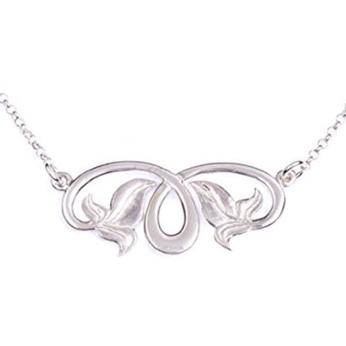 Keltische Halskette Efeu