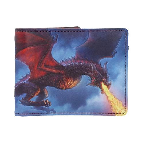 Portefeuille Dragon crachant du feu