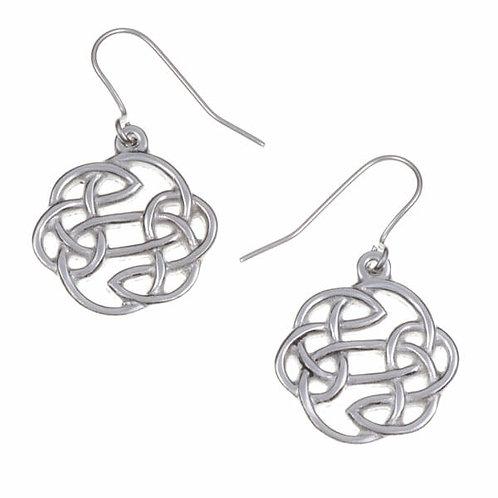 Boucles d'oreilles Nœud Celtique