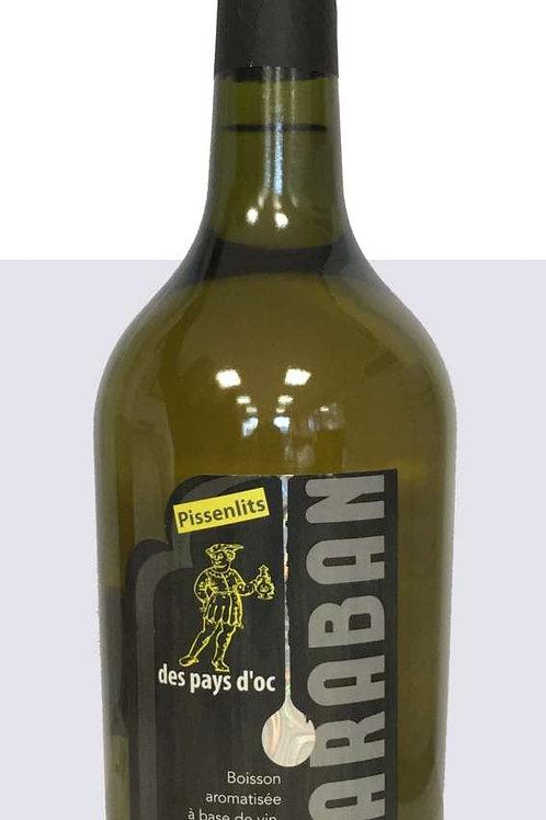 Wein mit Löwenzahn