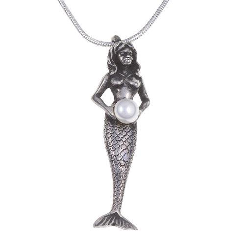 Perlen-Meerjungfrau-Halskette
