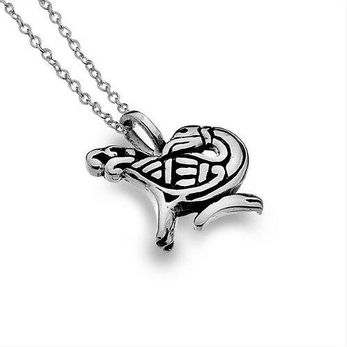 Zoomorphe keltische Halskette