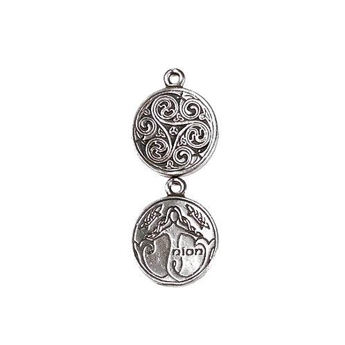 Anhänger der keltischen Astrologie 19. Februar - 18. März