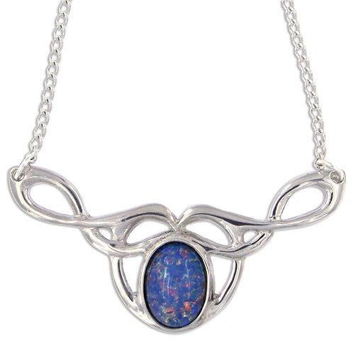 Keltische Opal Halskette