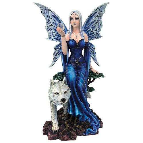 La fée au loup blanc