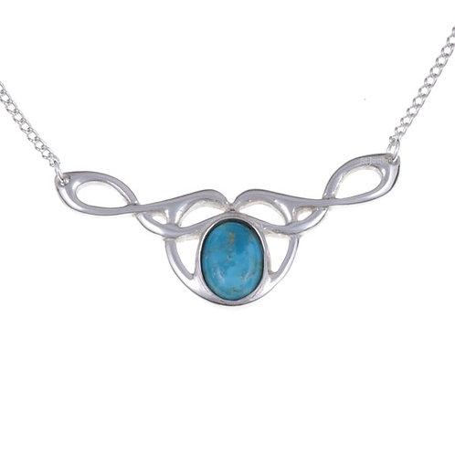 Collier Celtique Turquoise