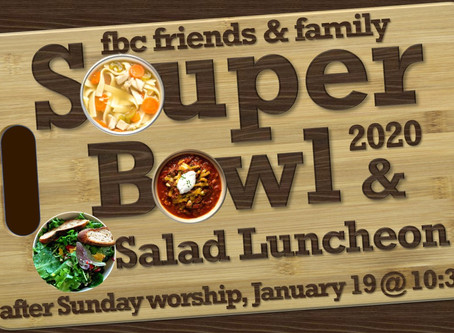 YOU are an MVP in this week's Souper Bowl