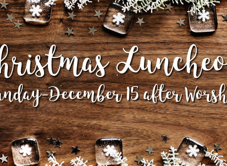 Celebrate Christmas Luncheon