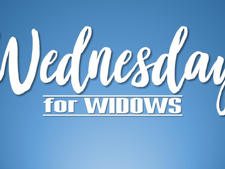 Widows Luncheon - Wednesday, August 14 @ 11am