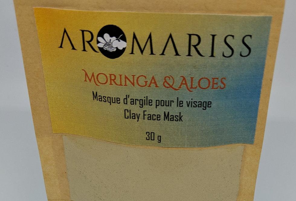 Clay Mask - Moringa & Aloes