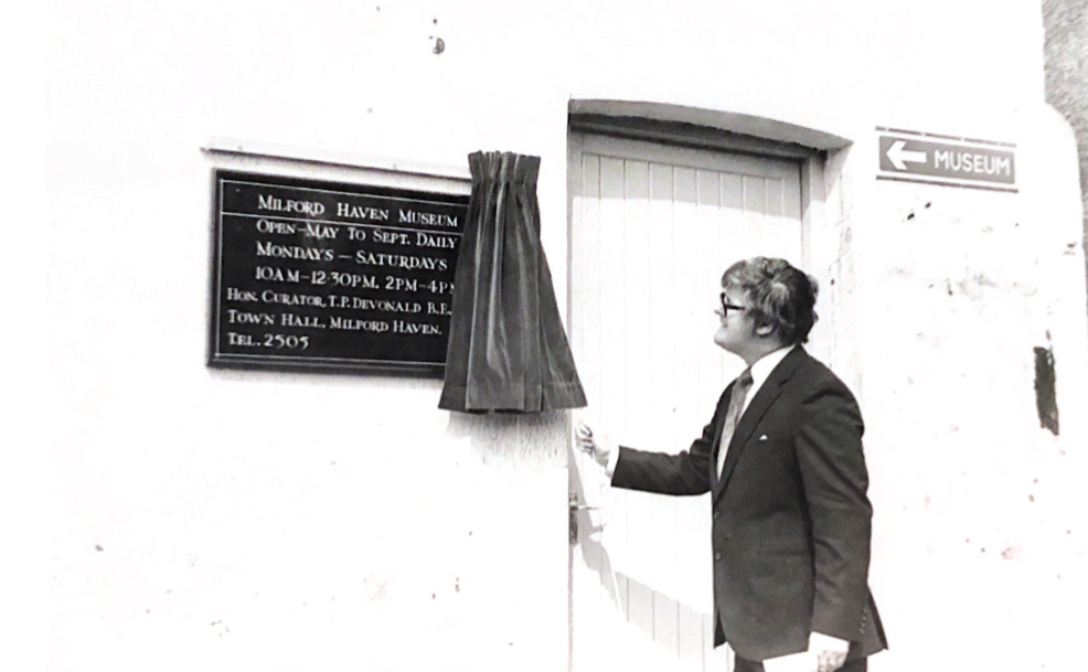 John Morgan Opening Museum