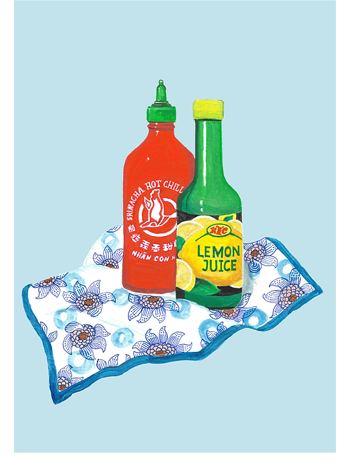 Sriracha & Lemon Juice
