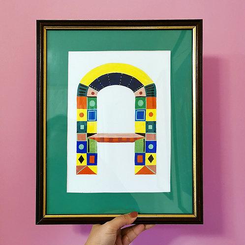 Bespoke Letter Painting