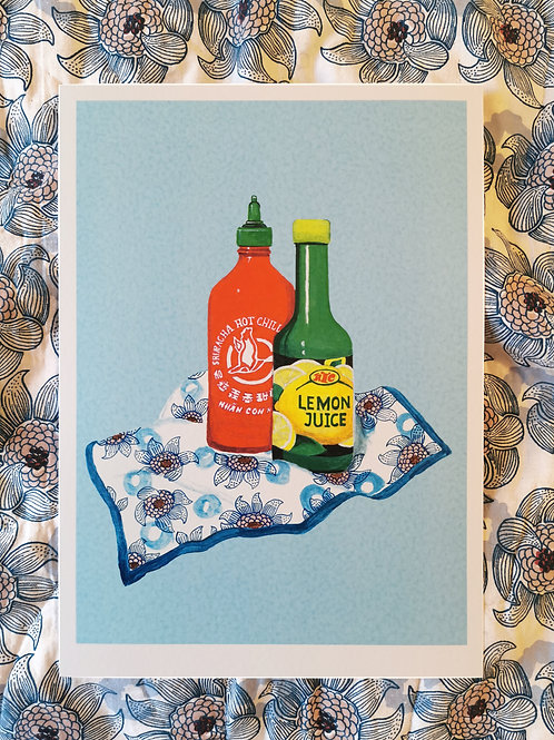 Sriracha & Lemon Juice