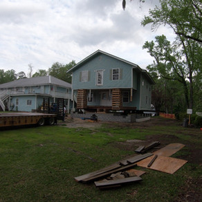 More Progress on the Director's Home!